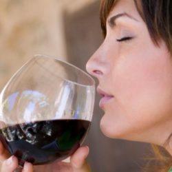 La mayoría de los sabores de un vino son aromas