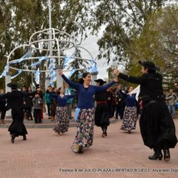 Festejaron el 9 de julio en el UEC Los Robles