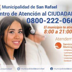 Municipalidad de San Rafael: Nuevo Centro de Atención Telefónica al Ciudadano
