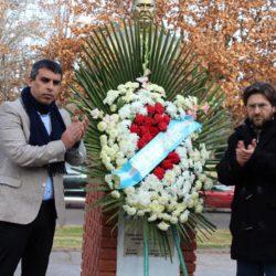 Recordaron a Yrigoyen y Perón