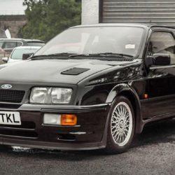Ford Sierra inmaculado de 1987 sale a subasta