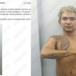 """Cadena del terror: el """"peligroso delincuente"""" es brasileño"""