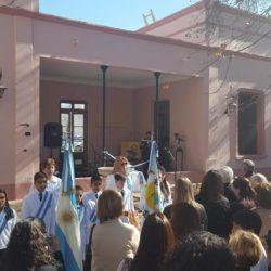 Inauguraron restauración de la fachada de la casa de Bustelo
