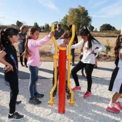 Nueva obra en distritos: Monte Comán inauguró su circuito saludable