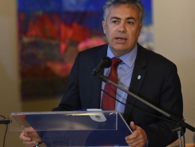 Cornejo disertará en un foro del BID en Washington