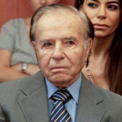 Carlos Menem no podrá ser candidato a senador