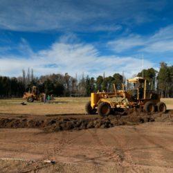 San Rafael: se construye una pista profesional de atletismo