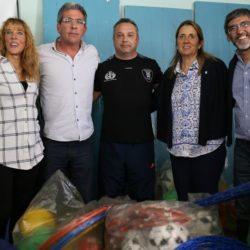 Entregaron fondos y material deportivo en el sur provincial
