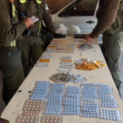 """""""Laboratorio móvil"""" en Mendoza: trasladaban más de 1300 pastillas de psicotrópicos en un auto"""