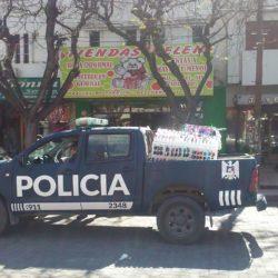 Detuvieron vendedor ambulante y secuestran su mercadería