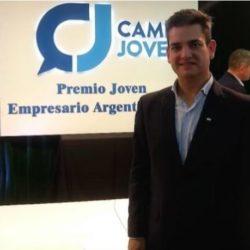 Rodrigo Flores, nuevo presidente de la Cámara de Jóvenes Empresarios de Mendoza