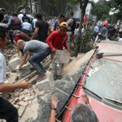 Pánico en México por fuerte terremoto