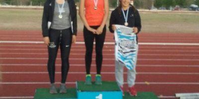 Valentina es campeona Nacional U-20
