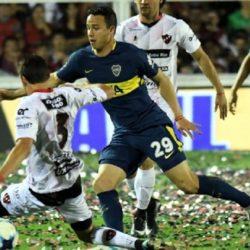 Boca le ganó a Patronato 2 a 0 en Paraná