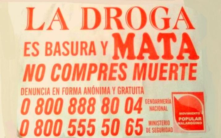 Ferrero contra la droga