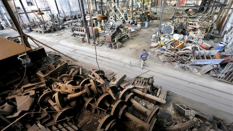 El Estado subastará chatarra ferroviaria