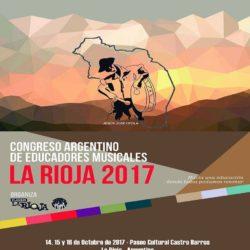 Educadores Musicales realizan Congreso en La Rioja