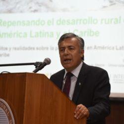 """Cornejo: """"Tenemos una visión integradora de la ruralidad"""""""