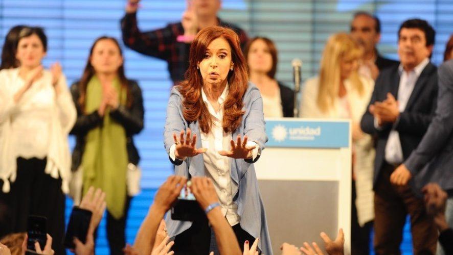 Cristina Kirchner reconoció el triunfo de Cambiemos
