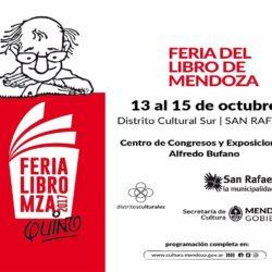 Inicia la Feria del Libro en San Rafael