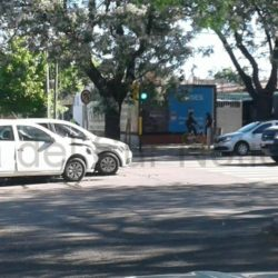 Chocaron dos VW Gol