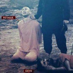 Neymar de rehén y Messi ejecutado: la nueva amenaza del ISIS al Mundial