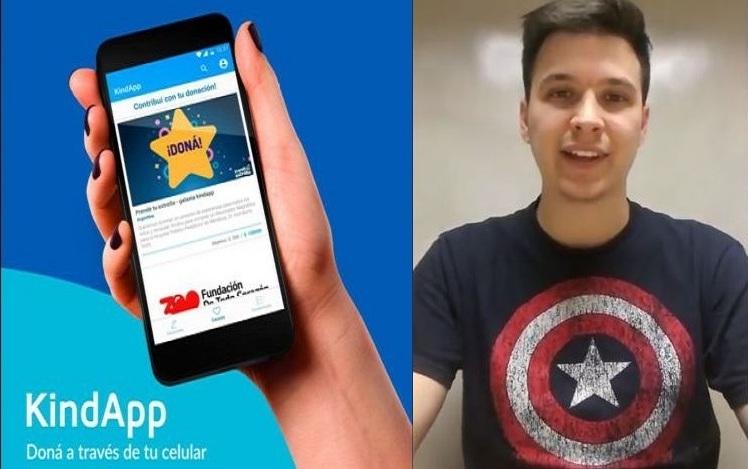 KindApp: app mendocina donde puedes donar con un clic