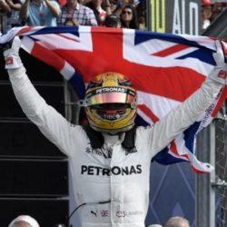 Hamilton obtuvo su cuarto título de Campeón de la F-1 en México