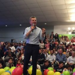 """""""El cambio vino para quedarse"""" dijo Macri en La Pampa"""