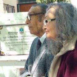 Emotivo homenaje al artista Omar Reina