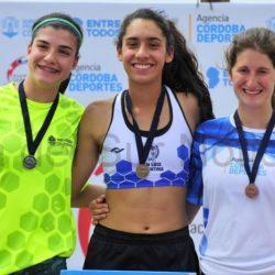 Valentina ganó 3 medallas en Córdoba