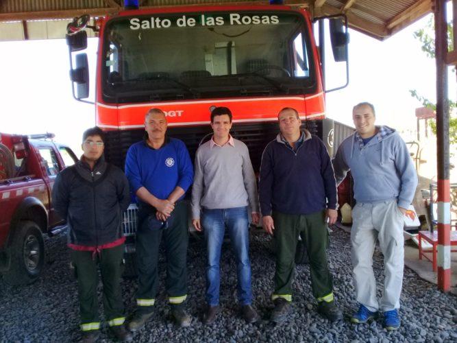 Aprobaron pedido de recursos humanos para Bomberos Voluntarios de Salto de las Rosas
