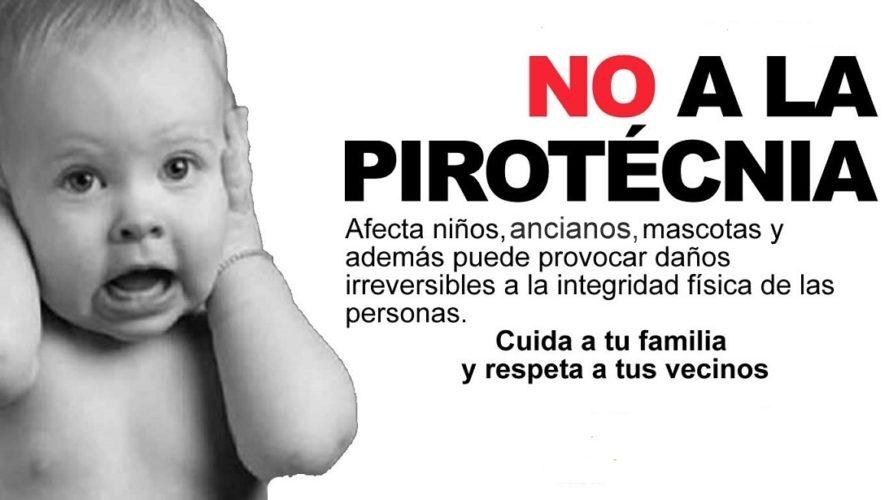 Piden prohibición de la comercialización de Pirotecnia