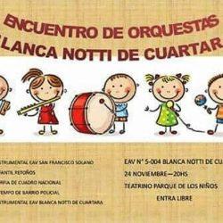 Concierto de música en el Teatro de los Juegos de los Niños