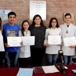 El HCD distinguió alumnos de las Olimpíadas Nacionales de Química