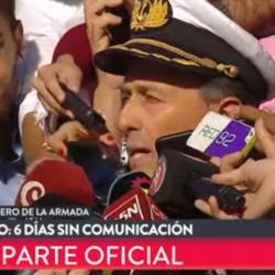 """ARA San Juan: 5 buques barren la zona del """"ruido"""""""