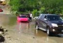 Ferrari de casi US$ 1 millón quedó varada en Córdoba Videos