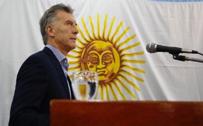 Conferencia de Macri tras la desaparición del ARA San Juan