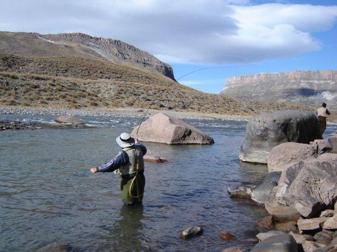 Pesca: Mendoza inauguró su temporada