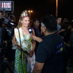 Las reinas de la Labranza se promocionaron en la Fiesta del Turismo y el Vino
