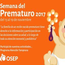 Semana del Prematuro en OSEP