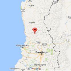 Sismo en Chile de magnitud 5,1