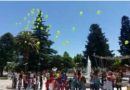 Suelta de globos en Alvear
