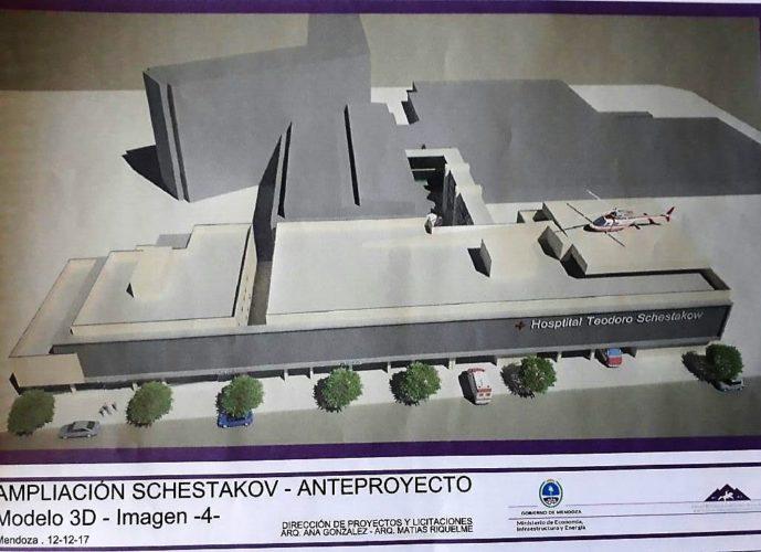 Hospital Schestakow: su ampliación se licitará en el primer trimestre de 2018