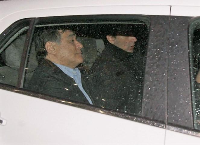 Carlos Zannini quedó detenido