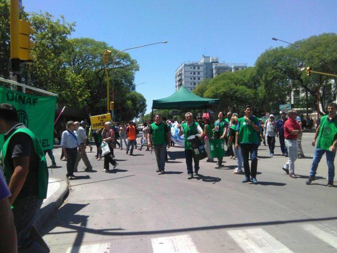 Manifestación de ATE