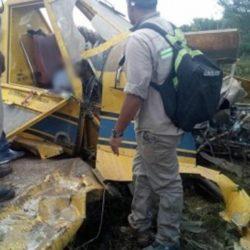Cayó avión fumigador en Rivadavia y murió su piloto