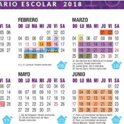 La DGE presentó el Calendario Escolar 2018