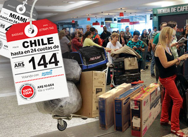 Efecto Chile: arrasa al comercio local