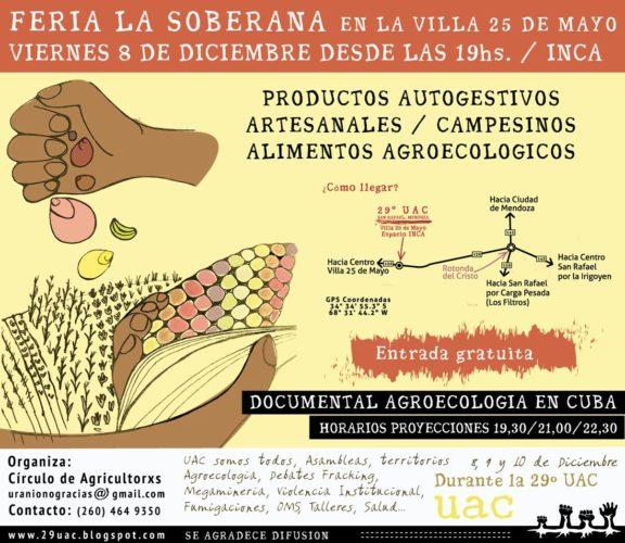 Feria La Soberana en el espacio INCA de la Villa 25 de Mayo